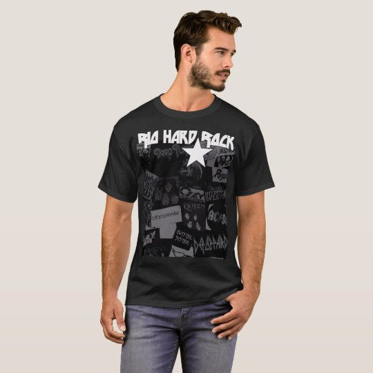 Camiseta Rio Hard Rock branco fundo retangular