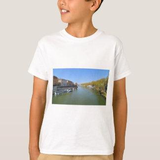 Camiseta Rio Tibre em Roma, Italia