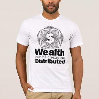 Camiseta Riqueza criada