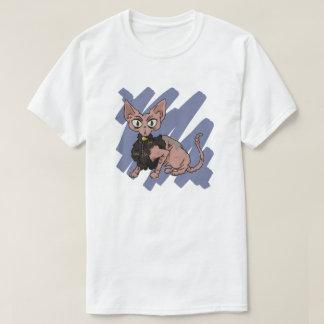 Camiseta Risco de gato de Sphynx
