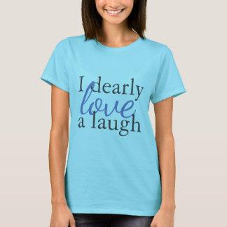 Camiseta Riso do amor dos t-shirt   das citações de Jane