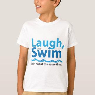 Camiseta Riso e natação… apenas não ao mesmo tempo
