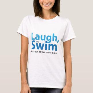 Camiseta Riso e natação… mas não ao mesmo tempo