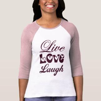 Camiseta Riso vivo do amor