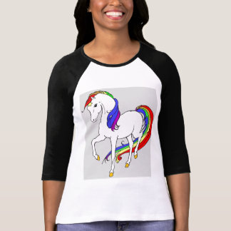 Camiseta risos e arcos-íris