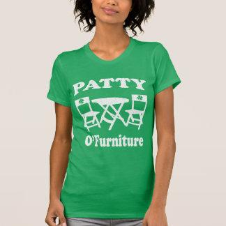 Camiseta Rissol engraçado O'Furniture (olhar do vintage)