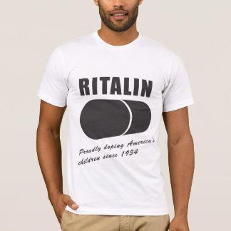 Camiseta Ritalin: Lubrificando as crianças de América desde