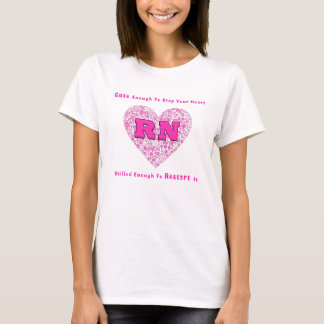 Camiseta RN bonito bastante para parar seu coração