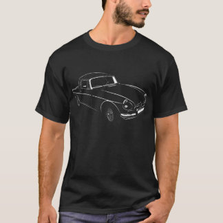 Camiseta Roadster clássico do MGB