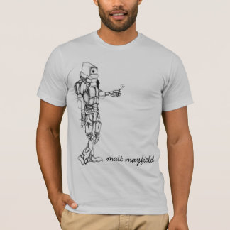 Camiseta Robô amigável