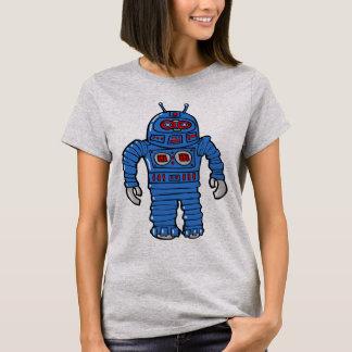Camiseta Robô azul