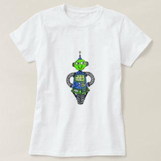Camiseta Robô, azul e verde de Arnie