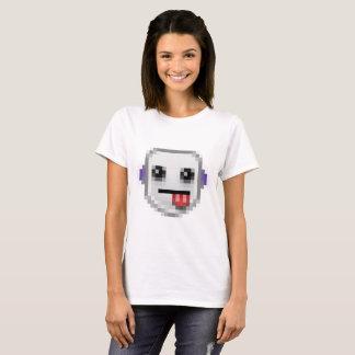 Camiseta Robô da contração muscular: P Emote o t-shirt