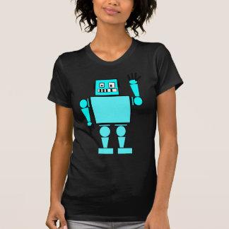 Camiseta robô mau louco