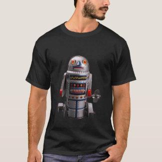 Camiseta Robô RETRO da lata do vintage do BRINQUEDO de ROBO