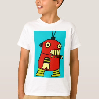 Camiseta Robô vermelho