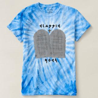 Camiseta Rocha clássica (tintura do laço)
