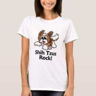 Camiseta Rocha de Shih Tzus!