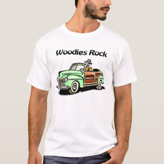 Camiseta Rocha de Woodies