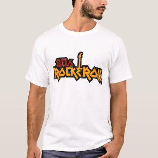 Camiseta rocha dos anos 80 & t-shirt do rolo