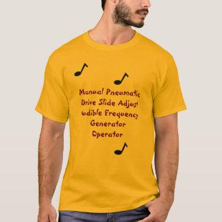 Camiseta Rocha dos jogadores de Trombone!
