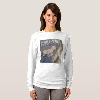 Camiseta Rocha dos Petroglyphs para geólogos e amantes da