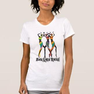 Camiseta Rocha preta das meninas!