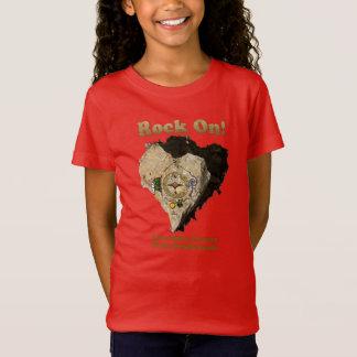 Camiseta ROCHA SOBRE! A caminhada do amor protege nossos
