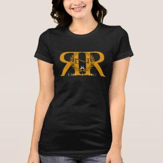 Camiseta Rocha - t-shirt do jérsei do rolo do n