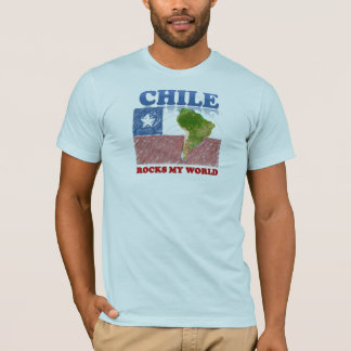Camiseta Rochas 2 do Chile