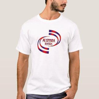 Camiseta Rochas da álgebra