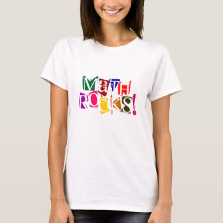 Camiseta Rochas da matemática