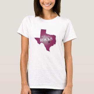 Camiseta Rochas de Austin