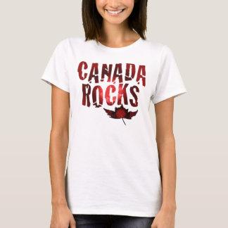 Camiseta Rochas de Canadá