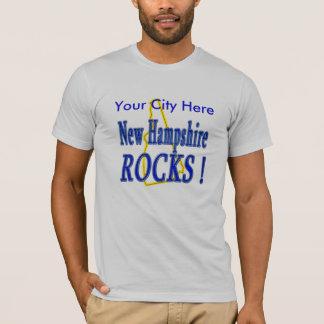 Camiseta Rochas de New Hampshire!