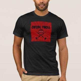 Camiseta Rochas de ondulação