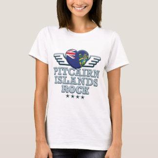 Camiseta Rochas v2 das Ilhas Pitcairn