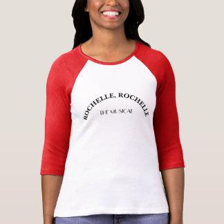 Camiseta Rochelle Rochelle o jérsei musical do softball