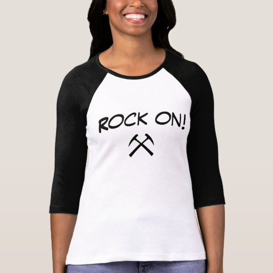 Camiseta Rock on geologist!