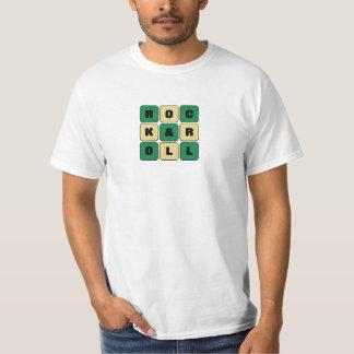 Camiseta Rock&roll nos cubos