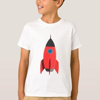 Camiseta Rocket vermelho