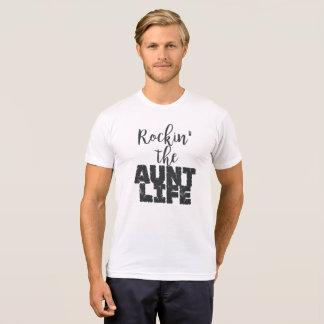 Camiseta Rockin a vida da tia