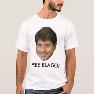 Camiseta Rod Blagojevich, oficial LIVRA BLAGO! T-shirt