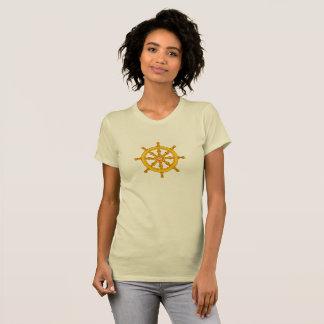 Camiseta Roda budista de Dharma