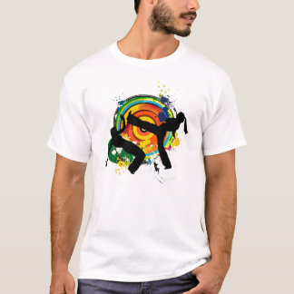 Camiseta Roda colorido