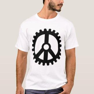 Camiseta Roda dentada da Paz-T-Camisa