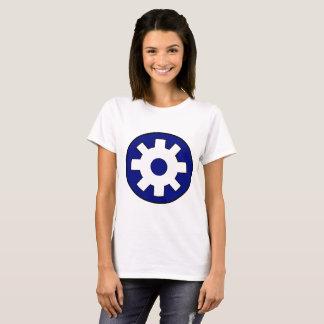 Camiseta Roda denteada