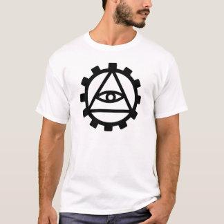 Camiseta Roda denteada de DexM Illuminati