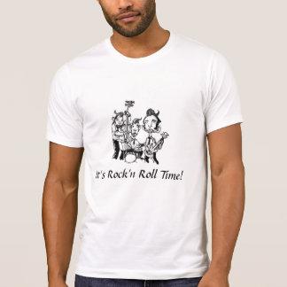 Camiseta Rodas It's Rock'n Calcular o tempo!