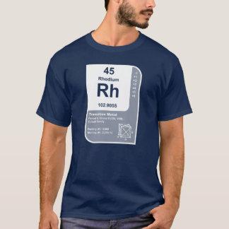 Camiseta Ródio (Rh)
